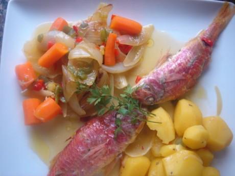Restaurante Fresh fish, shellfish, squid, octopus, Tenerife South,