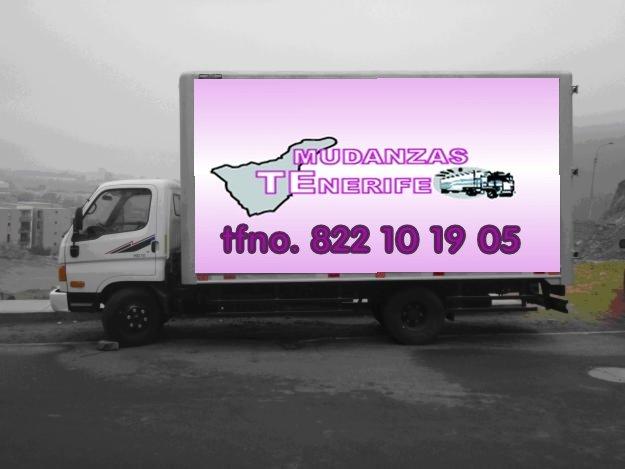 Mudanzas tenerife servicio de paqueter a embalajes for Empresas de transporte en tenerife