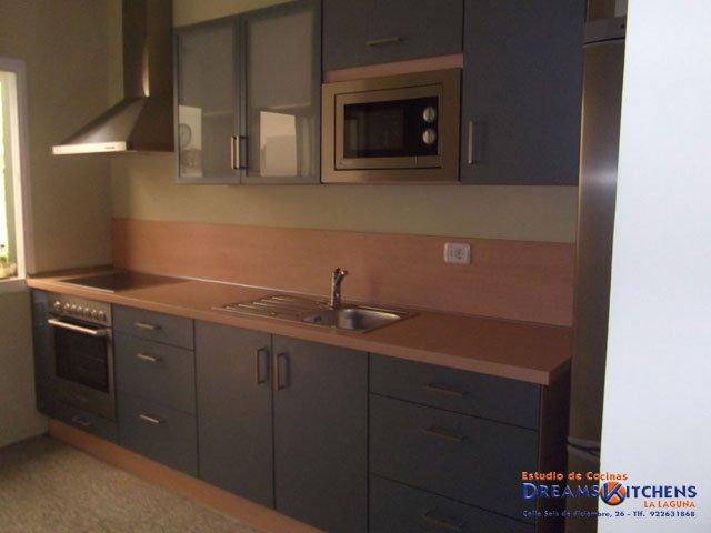 Estudio de cocinas muebles de cocinas cocinas for Muebles de cocina kitchen