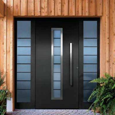 Carpinter a de aluminio tenerife trabajos en aluminio for Puertas metalicas para exteriores